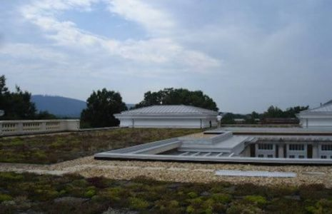 Green roof, University of Virginia