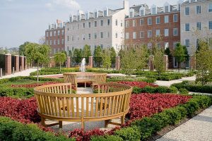 UMD - Moxley Garden at Samuel Riggs IV Alumni Center, College Park